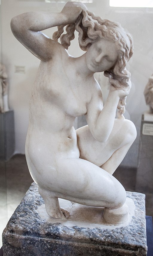 Crouching Venus in Rhodes