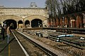 Crystal Palace station, London Overground works - geograph.org.uk - 2215471.jpg