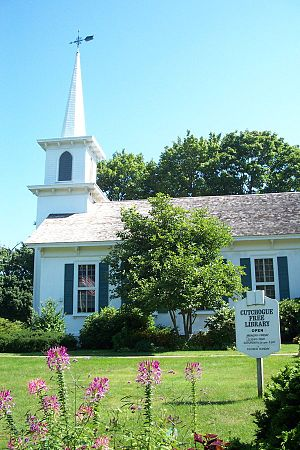 Cutchogue, New York - The Cutchogue Library