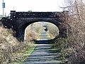 Cycle path at Auchenbothie - geograph.org.uk - 693466.jpg