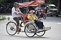 Cycle rickshaw in Hanoi.jpg