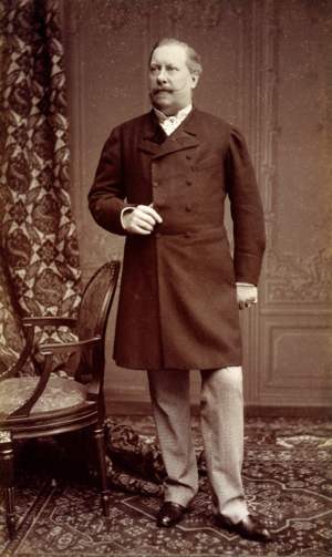 Luís I of Portugal - Photograph by Augusto Bobone, 1885