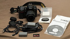 D300 with 18-55mm lens and accessories.jpg