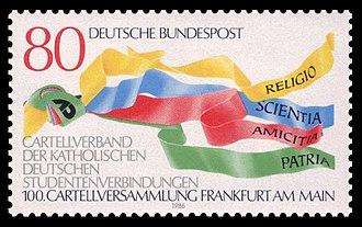 Cartellverband - German stamp