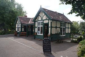 Wheldrake - The former station, now preserved