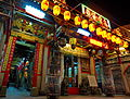 Da Shi Ye Temple at night (Taiwan).jpg