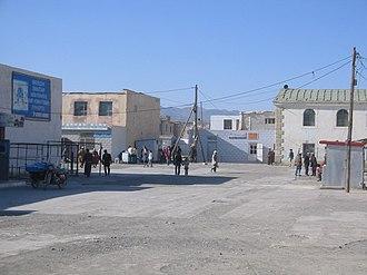 Dalanzadgad - The streets of Dalanzadgad