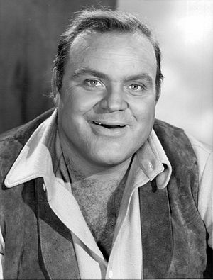 Dan Blocker - Dan Blocker in Bonanza