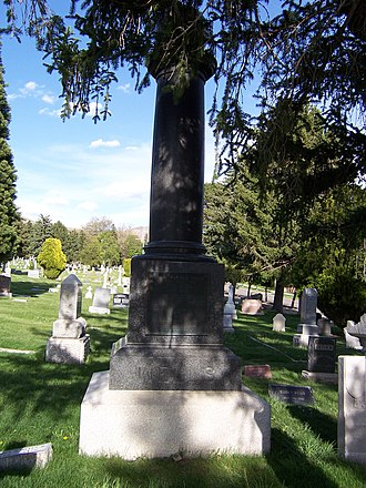 Daniel H. Wells - Image: Daniel H Wells Grave