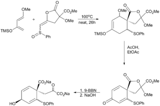 Danishefsky disodium prephenate.png