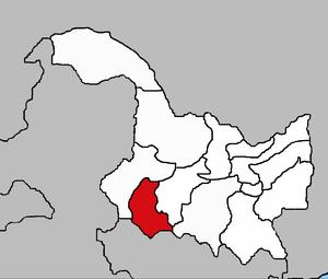 Дацин на карте