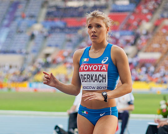 Dariya Derkach (2013 World Championships in Athletics) - 7.jpg