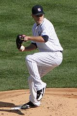 David Phelps jako zawodnik New York Yankees.