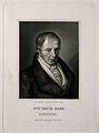 David Rahn. Line engraving by H. R. Rahn, 1857. Wellcome V0004874.jpg