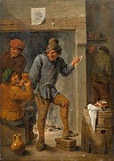 David Teniers (II) - Men Smoking and Drinking in a Tavern.jpg