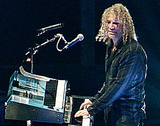 David Bryan - Bryan on a concert with Bon Jovi.