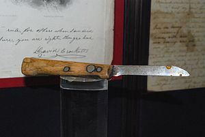 Battle of the Alamo - A knife purportedly used by Davy Crockett during the Battle of the Alamo
