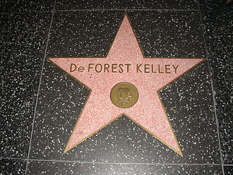 DeForest Kelley - Hollywood Walk of Fame