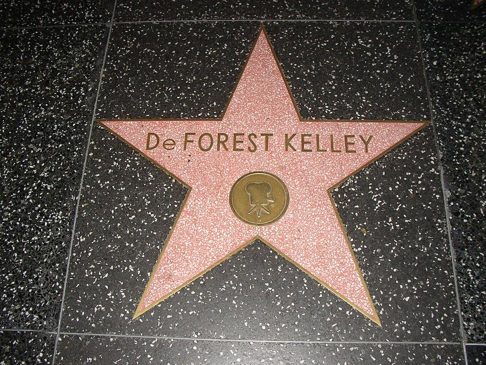 DeForest Kelley - Walk of Fame