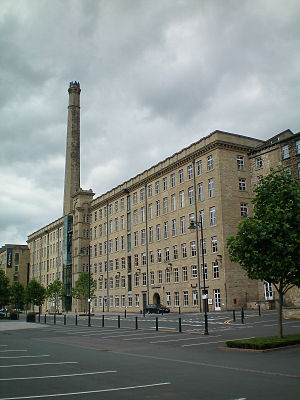 Dean Clough - Image: Dean Clough Mills 10