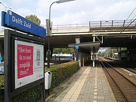 Delft Zuid railway station