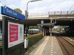 Delft Zuid railway station - Image: Delft Zuid 2