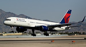 Delta Air Lines New Livery Boeing 757-232 with Winglets N703TW (1850694316).jpg