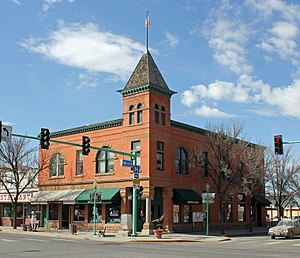 National Register of Historic Places listings in Delta County, Colorado - Image: Delta County Bank Building