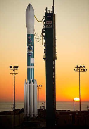 The Delta II rocket. Thursday, Oct. 27, 2011.