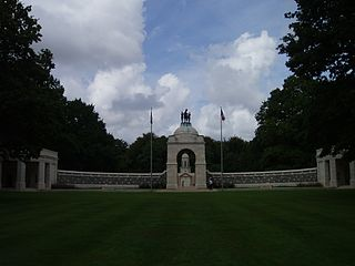 Delville Wood South African National Memorial cemetery located in Somme, in France