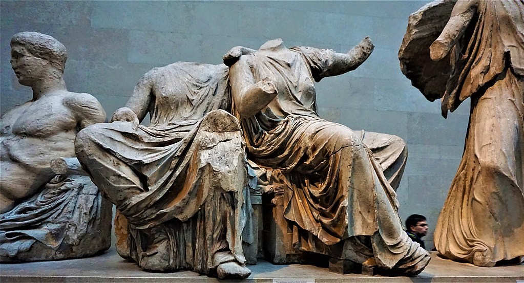 Demeter and Persephone - Pediment Sculptures of the Parthenon