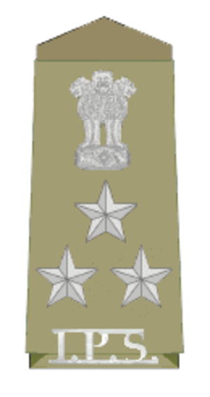 Deputy inspector general of police - Indian Insignia for the Deputy Inspector General of Police