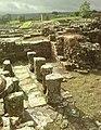 Detail from roman fort of Vindolanda 28.jpg