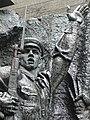 Detail of Heroic Frieze - Museum of the History of Ukraine in World War Two - Kiev - Ukraine - 02 (26915531012).jpg