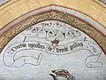 Detail uit het Laatste Oordeel in de zuidelijke transeptarm van de Sint-Genovevakerk van Zepperen - 375351 - onroerenderfgoed.jpg