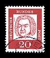 Deutsche Bundespost - Bedeutende Deutsche - Johann Sebastian Bach - 20 Pfennig.jpg