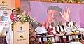 Dharmendra Pradhan addressing the inaugural function of Skill-cum- Common Facility Centre for Filigree Craftsmen at Cuttack and launching the Training and Recognition of Prior Learning(RPL) Program under Pradhan Mantri Urjja.JPG