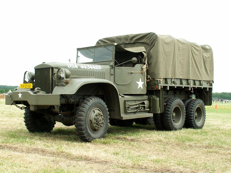 ファイル:Diamond T truck of the Royal Dutch Army.jpg