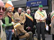 Dignitaries at the Yonkers Saint Patrick's Parade