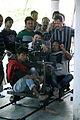 Director Bhaskar jyoti Mahnata at work.jpg