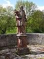 Dittigheim Kulturdenkmal 07 Nepomukstatue vor der Tauberbrücke - 1.jpg