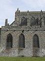 Dol-de-Bretagne (35) Cathédrale Flanc nord du chœur 01.JPG