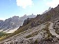Dolomites - Alta Via 2, Stage 02-11 Rifugio Genova to Rifugio Puez - panoramio (3).jpg