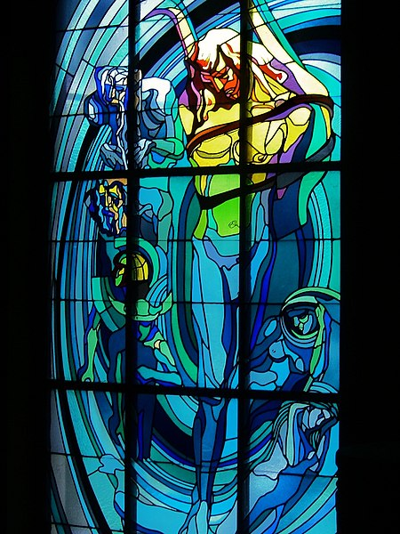 Apollo Stained Glass