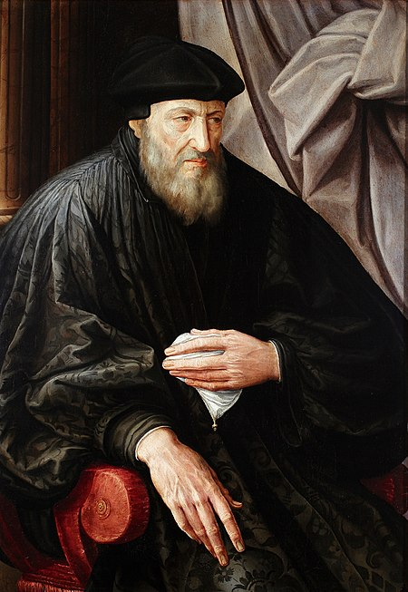 Portrait of Andrea Doria (Jan Matsys, 1555, oil painting, Galleria di Palazzo Bianco). Domenico Alfani or Jan Massijs - Portrait of an old man (portrait of Andrea Doria%3F).jpg