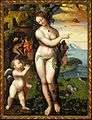 Domenico Beccafumi (Domenico di Giacomo di Pace) or Luca Cambiaso? Allegory of Venus. New Orleans Museum of Art, USA.jpg