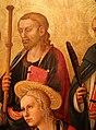 Domenico di michelino, madonna col bambino in trono e santi, 1450-60 ca., da s.m. dei cerchi firenze, 07 jacopo.jpg