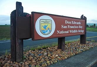 Don Edwards San Francisco Bay National Wildlife Refuge - Image: Don Edwards SF Bay NWR sign