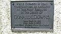 Donald Downs plaque.jpg