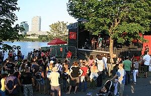 Donauinselfest - Image: Donauinselfest 2007 sj Bühne